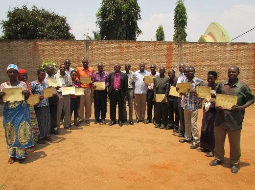 Farmers receive certificates