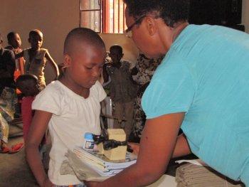 Distributing school materials